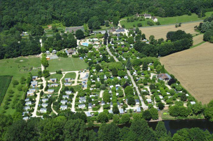 50 ans Camping Le Paradis Vue