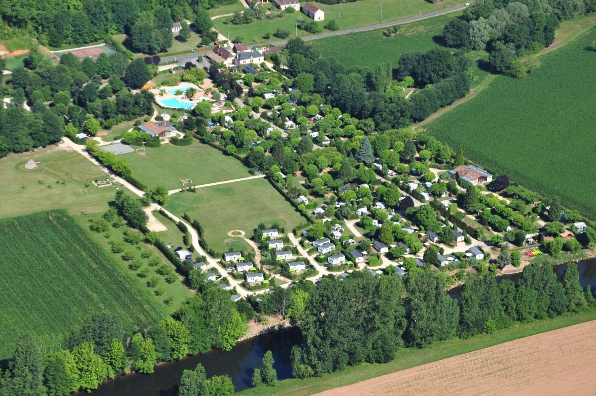 the le paradis campsite in the p u00e9rigord  dordogne  is